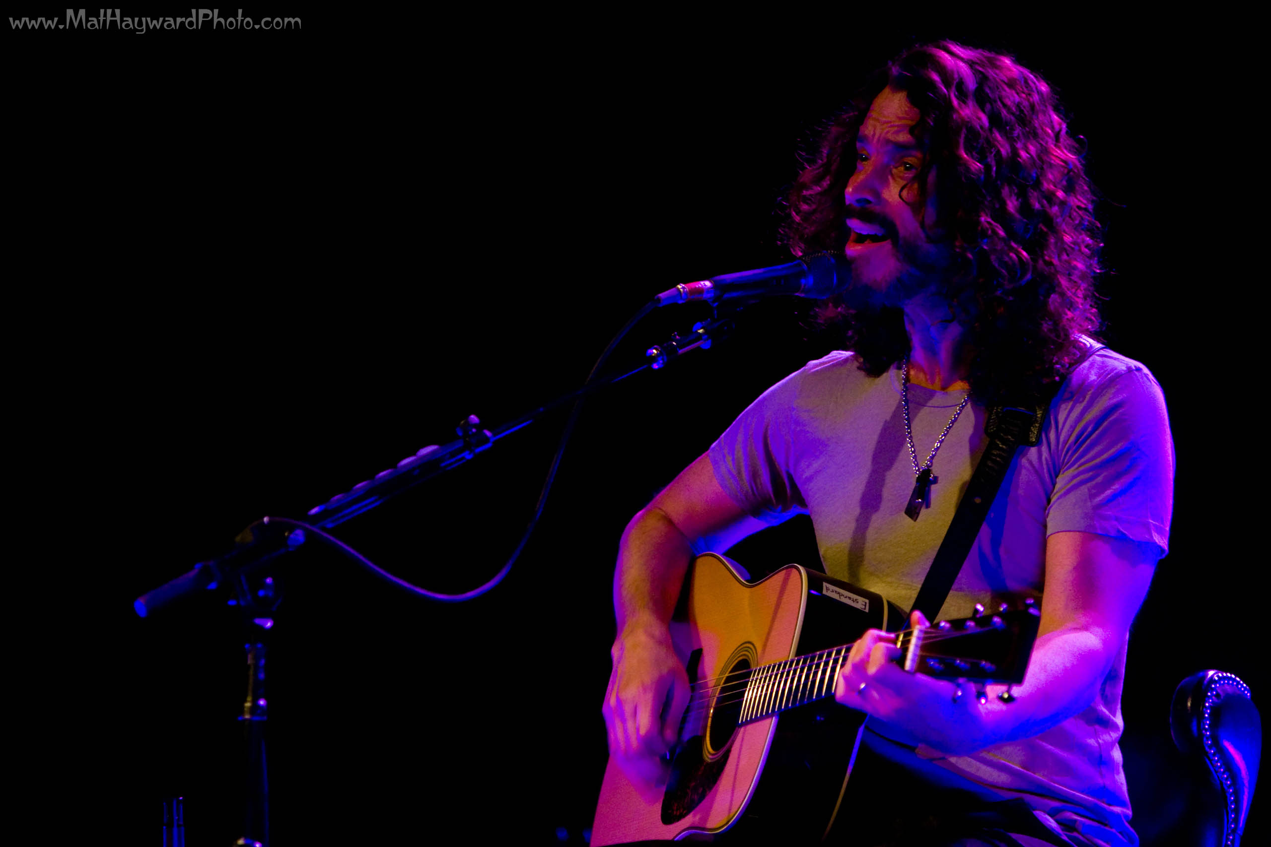 Chris Cornell solo acoustic @ The Moore Theatre in Seattle