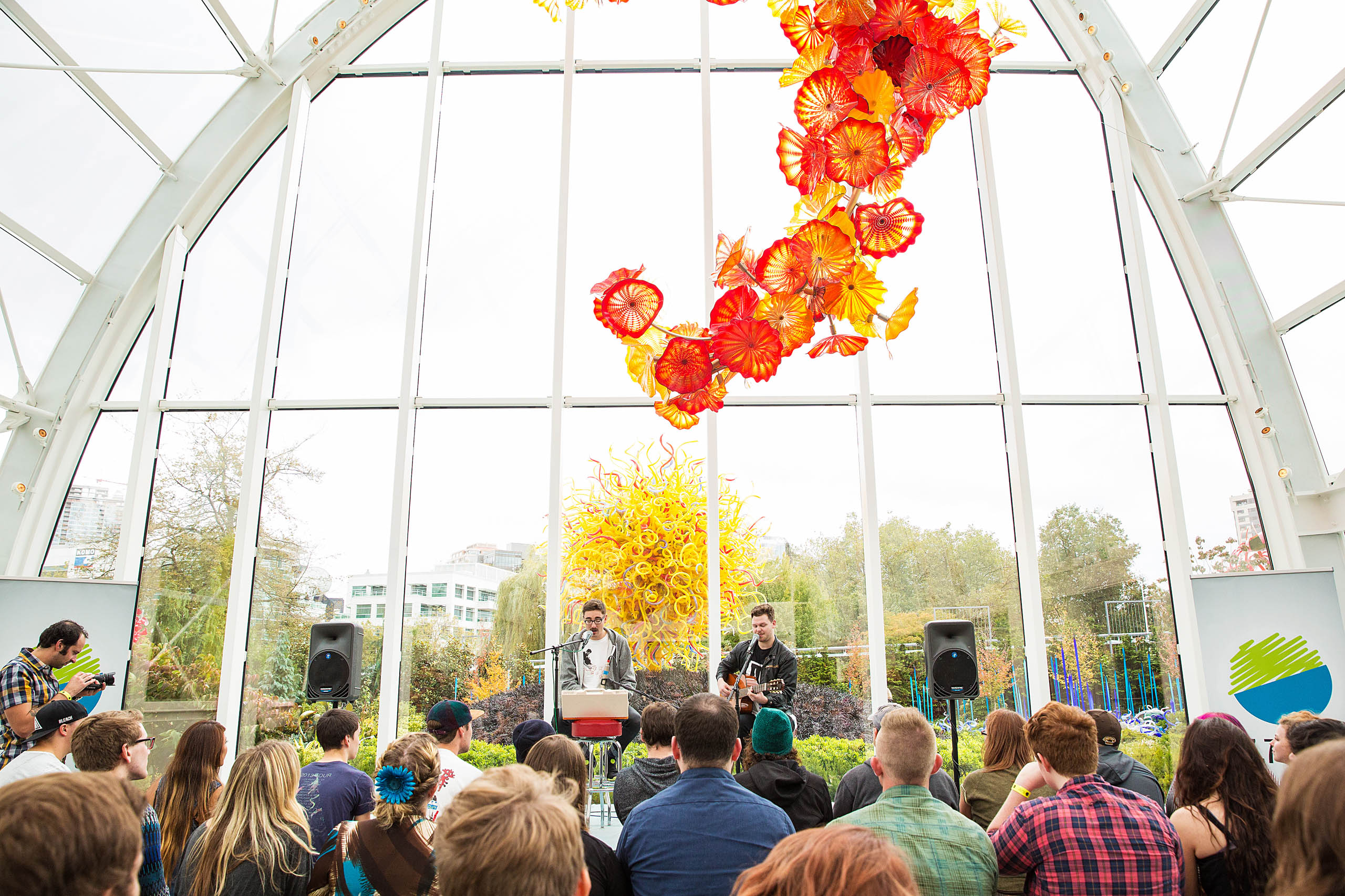 Alt-J and Chihuly Glass Museum